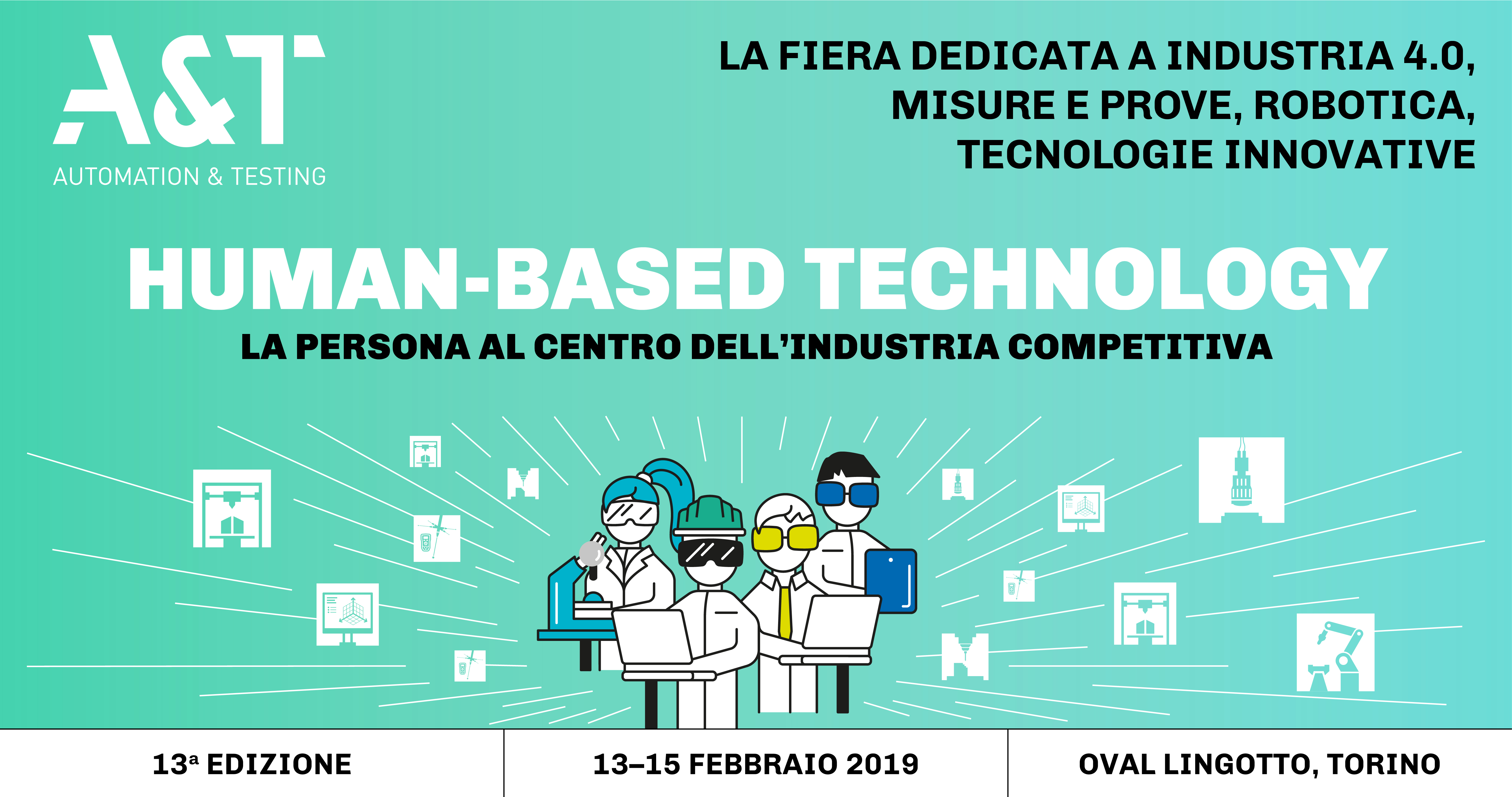"Omega Gruppo Fiera ""A&T Automation & Testing"" Torino"